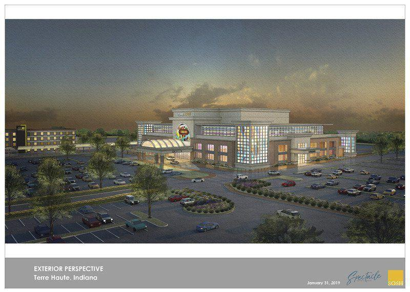 Hard Rock Casino $100 million proposed casino featuring a Velvet Lounge and easy access to the Home2Suites.  Dining, mens and womens restrooms, and a venue for entertainment.