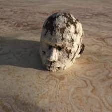 Image result for person being buried in concrete